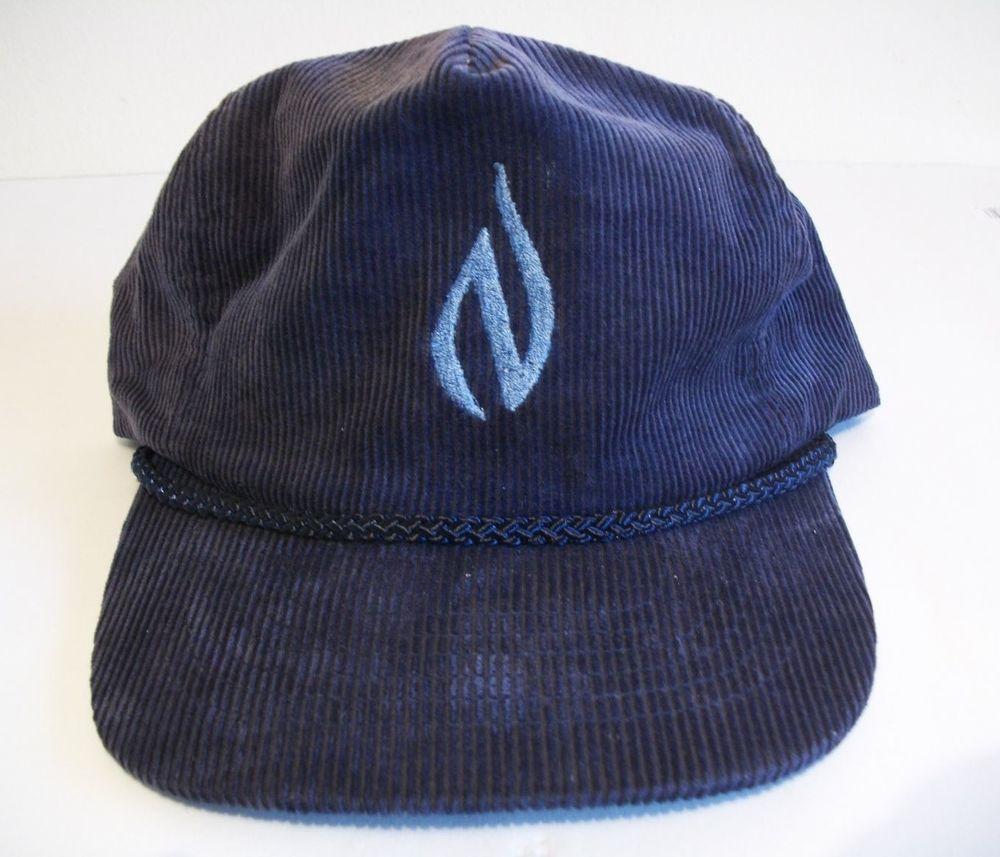 Vintage Strapback Rope Hat Corduroy NW Natural Gas- supreme 80s 90s skate   Otto  BaseballCap 6e3c8d66528