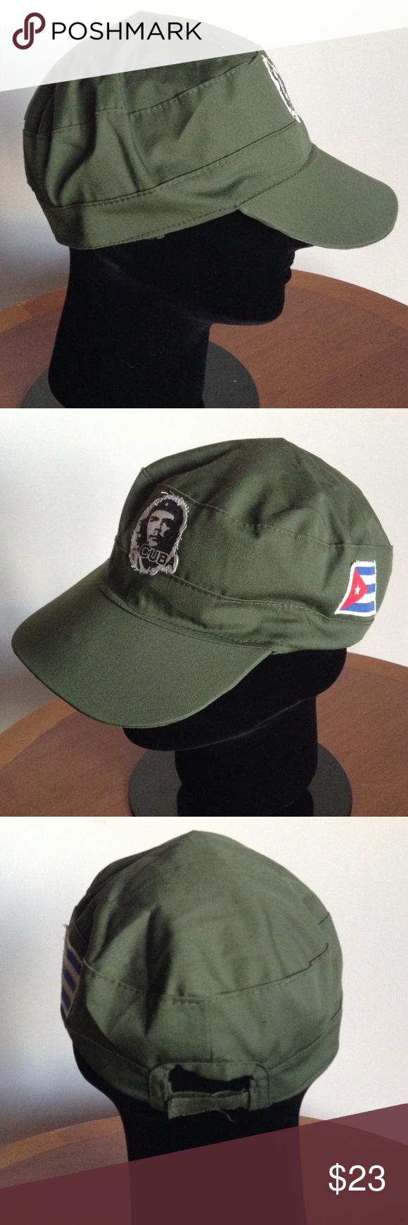 Revolutionary Che Guevara Vintage Cuban Army Hat Clothes Design Vintage Fashion Fashion Design