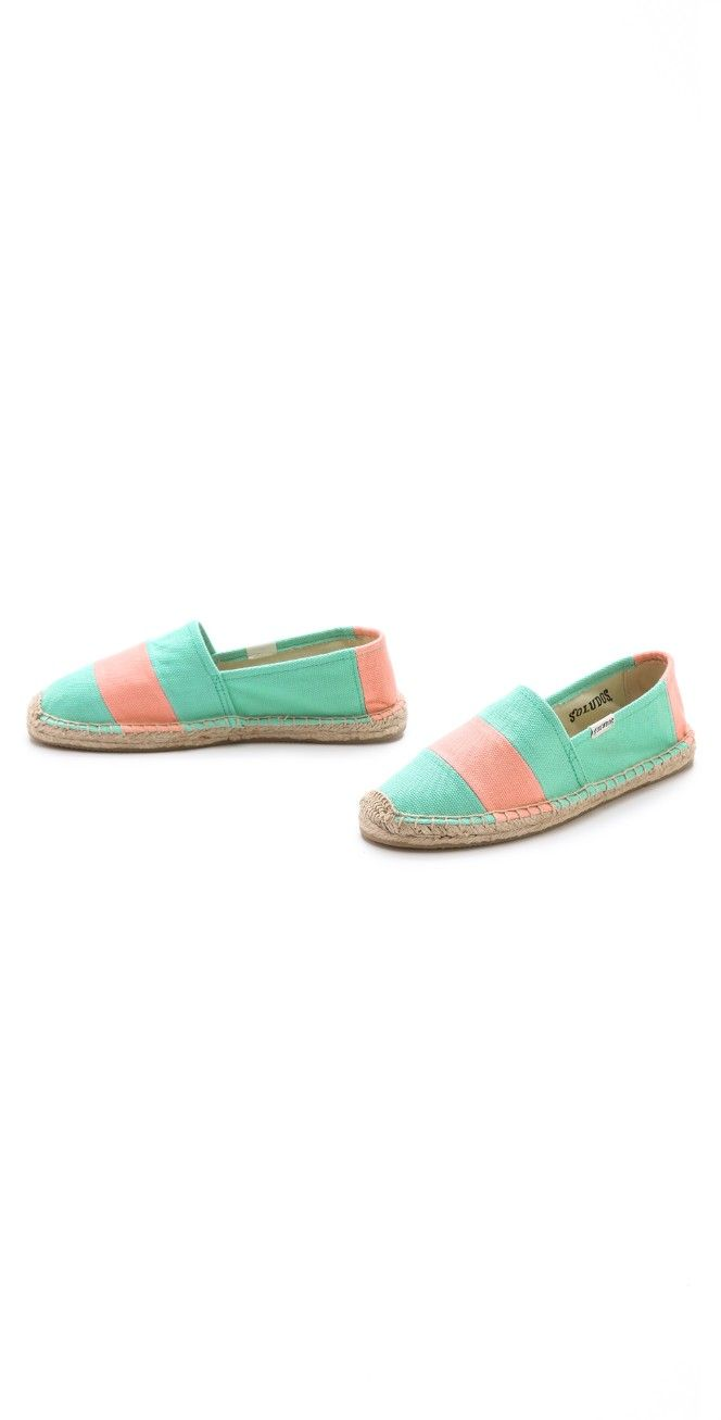 Soludos Barca Striped Espadrilles | SHOPBOP SAVE UP TO 25% Use Code: EVENT17