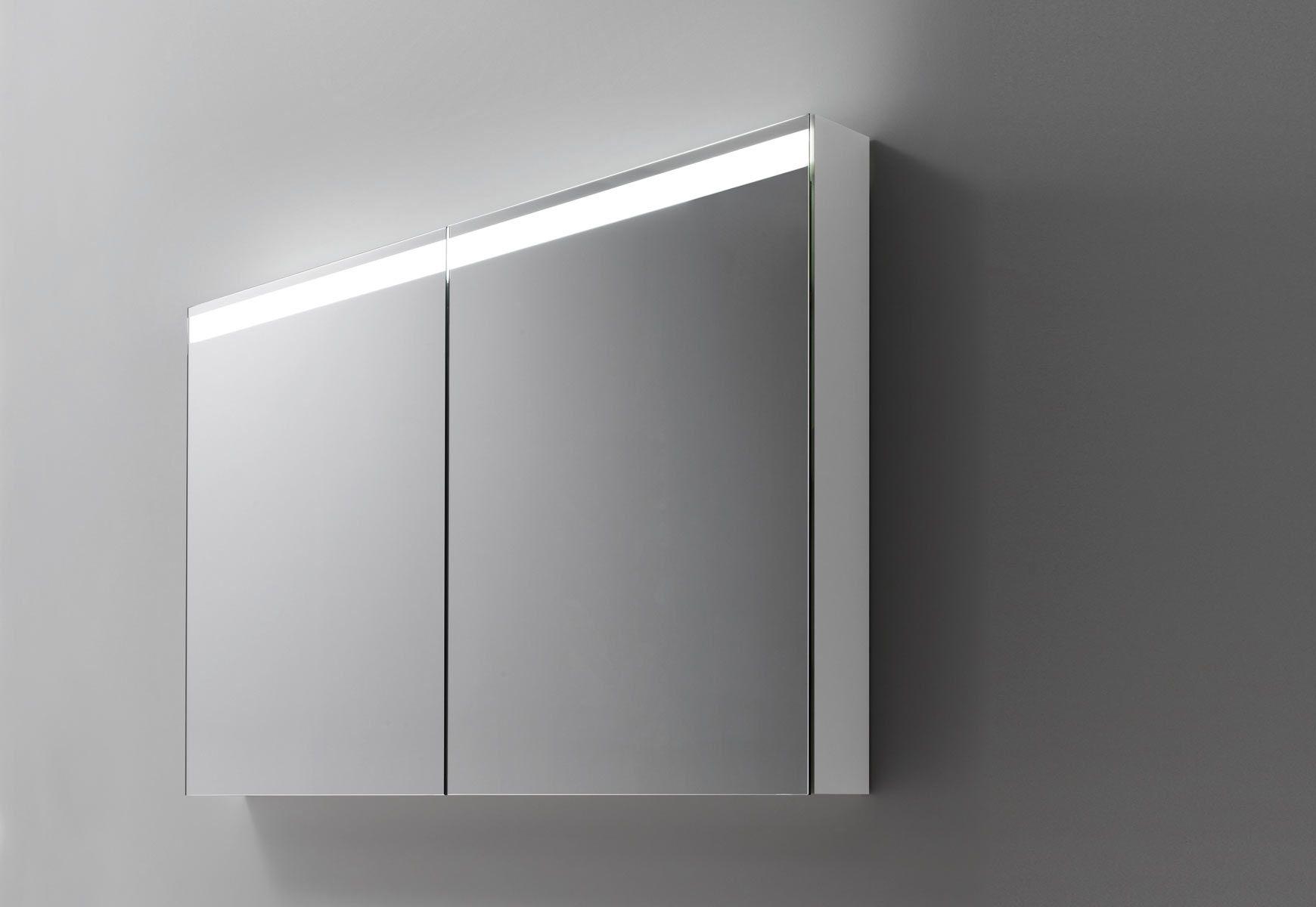 talsee LED Spiegelschrank level mit ausgeklügelter Leuchte   wohnen ...