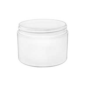 8 Oz White Double Wall Jar Jar White Jar Diy Bath Products