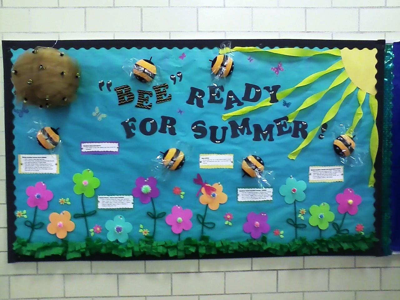 Bumble Bee Bulletin Board