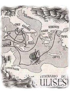 La Odisea De Homero El Eneagrama De La Personalidad Describe El Viaje De Ulises La Odisea Homero La Odisea Ulises Mitologia Griega