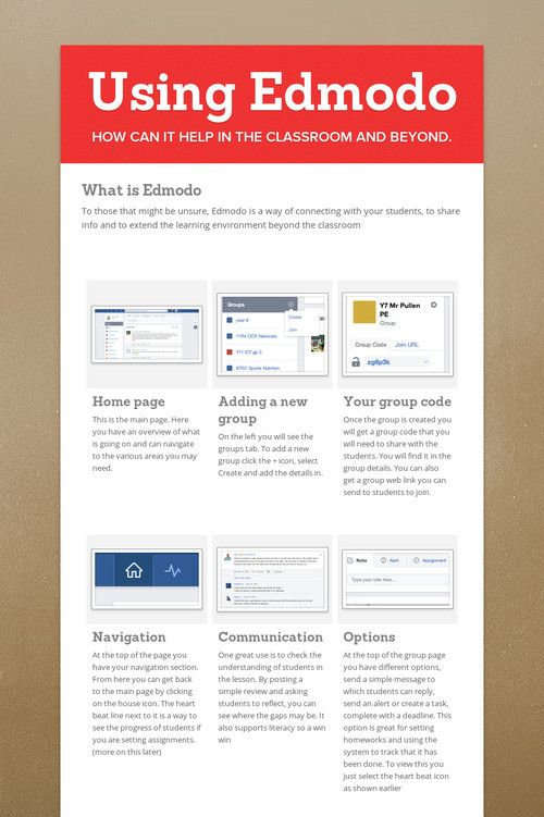 how to use edmodo for students