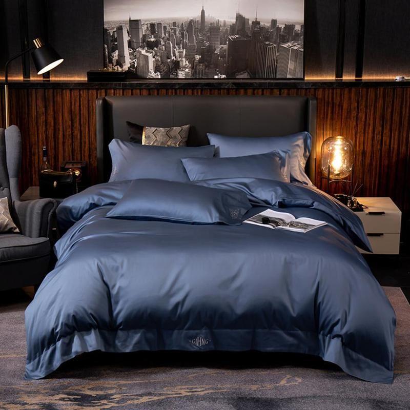 Egyptian Black Duvet Cover Sheet Set Forhabitat Bedding Set Cotton Bedding Sets Duvet Cover Sets