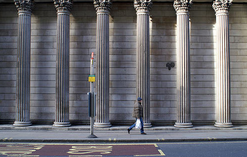 Windowless Wall - Bank of England