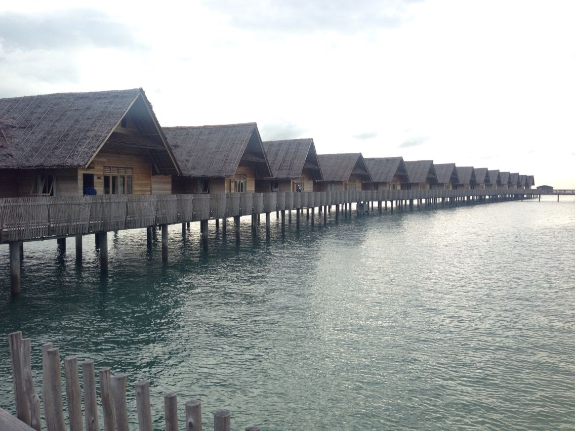 Teluna Resort is 2 hours ferry from Batam to the most remote island. Away from the city ... Internet and people