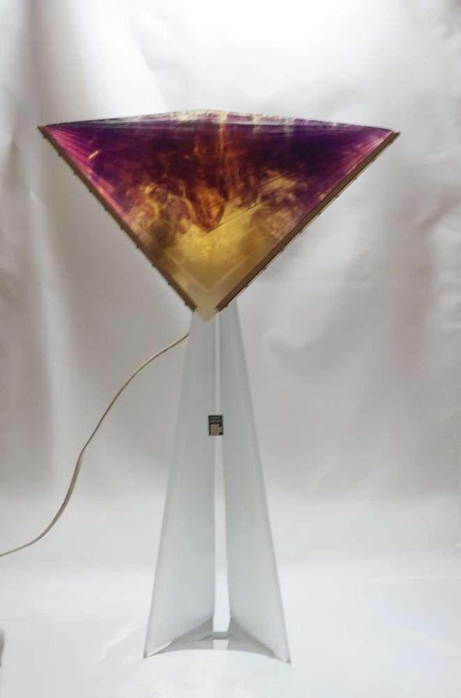 Daum, Lampe, Lichtobjekt, 57 cm, teildefekt