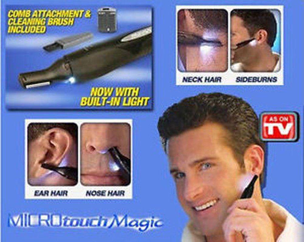 Ideal Microtouch Rasoio PELI Naso Orecchie Magic Max ...