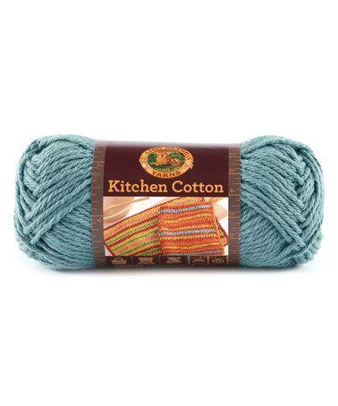 Loving this Blue Ice Kitchen Cotton Yarn - Set of Three on #zulily ...