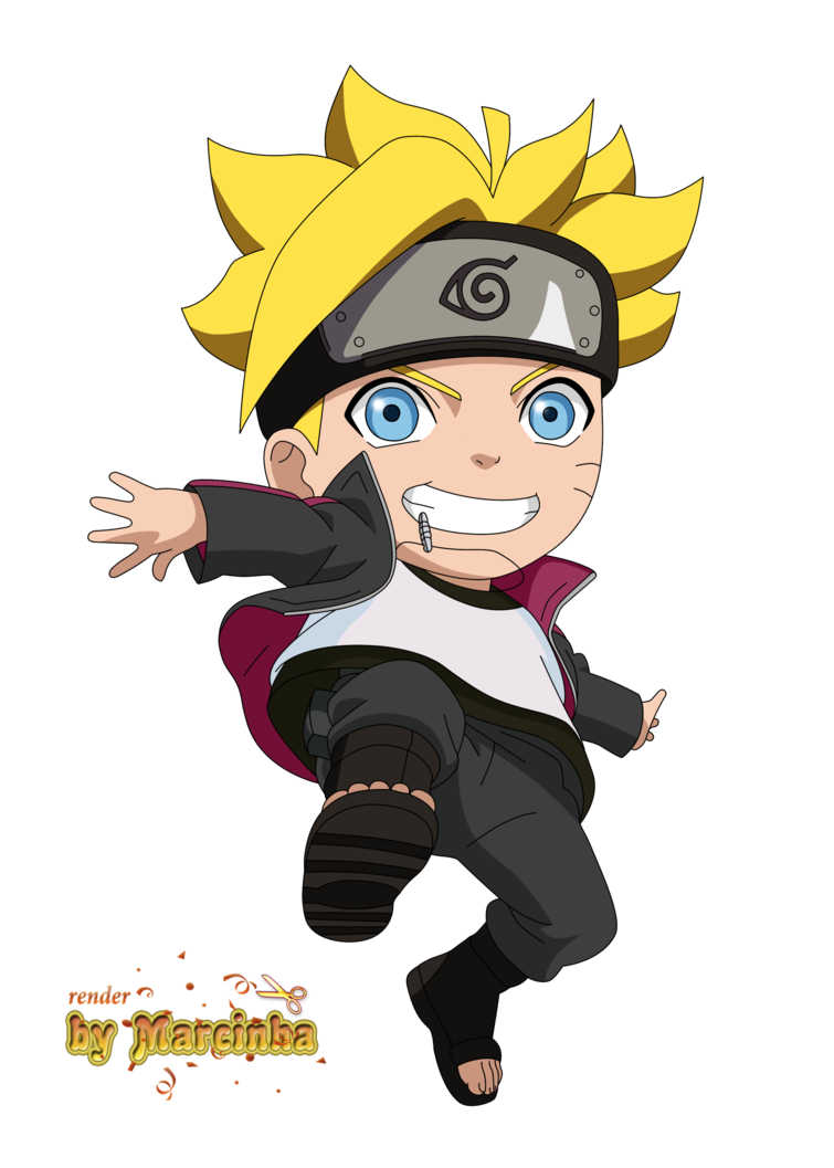 Chibi Boruto Uzumaki by Marcinha20 on DeviantArt Naruto