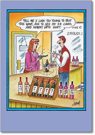 Too young to buy card funny birthday and funny cards cheer up the drinkers you know with funny birthday cards for alcoholics and drinkers from nobleworks cards bookmarktalkfo Gallery