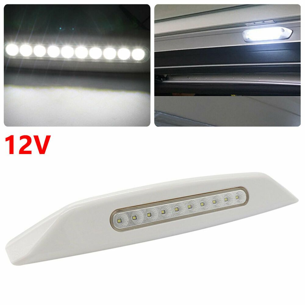 Sponsored Ebay Car Rv Boat Roof Dome Lamp Ceiling Lighting White Led Spotlight Awning Light 12v Awning Lights Ceiling Lights Led Spotlight