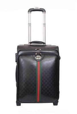 949766610 Gucci > Gucci Travel Luggage > Gucci Luggage Travel Carry-on Luggage 189758  Black Replica