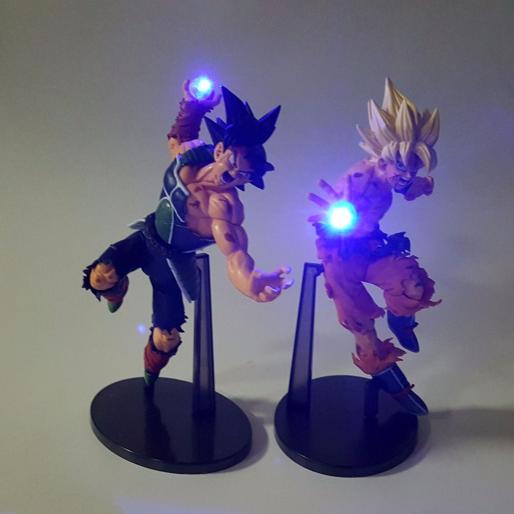 Led Lamps Dragon Ball Z Goku Diy Led Lighting Lamp Anime Dragon Ball Z Super Saiyan Fes Dbz Son Goku God Led Night Lights Luces Navidad