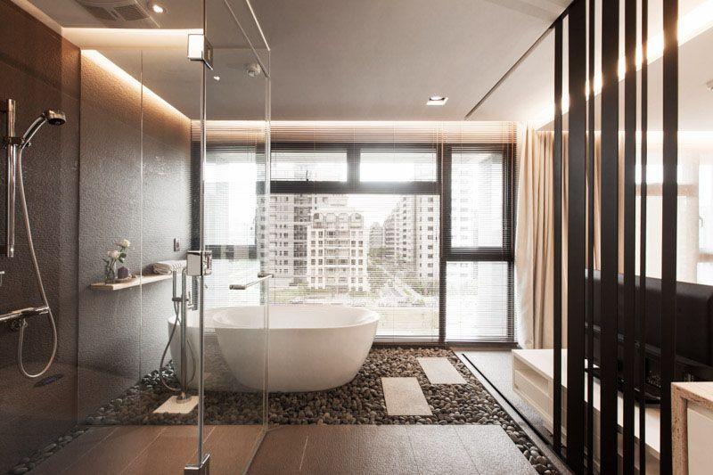 Finestra Bagno ~ Idee di bagni moderni stile orientale bagno moderno e zen