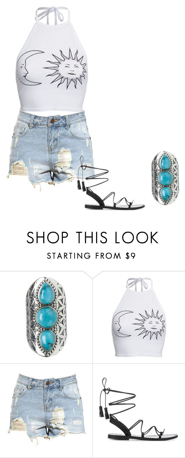 """Untitled #415"" by elizabethduff ❤ liked on Polyvore featuring Tribe and Boohoo"