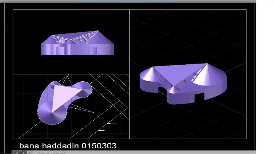 Bana Haddadinالرسم المعماري بالحاسوب/ computer architectural drawing: