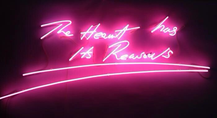 Tracey Emin - The Heart has its reasons