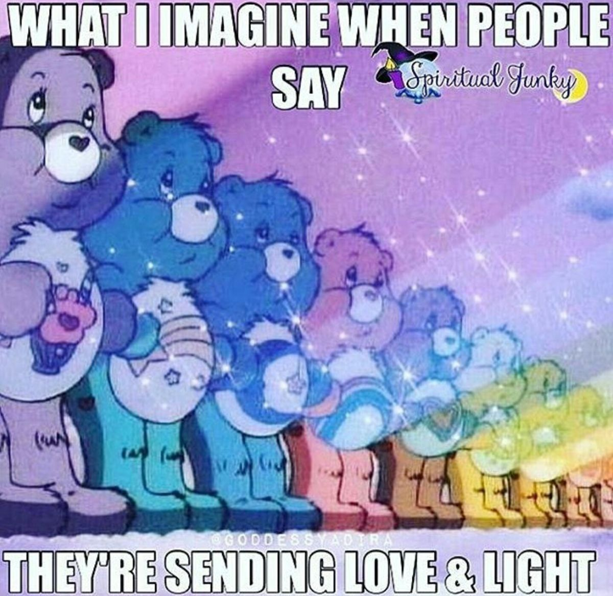 Pin By Rachel Steele On Stuff Sending Love And Light Love And Light Funny Spiritual Memes