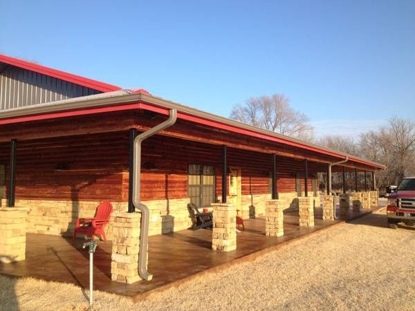 Barndominium custom homes and home on pinterest for Shouse shed house