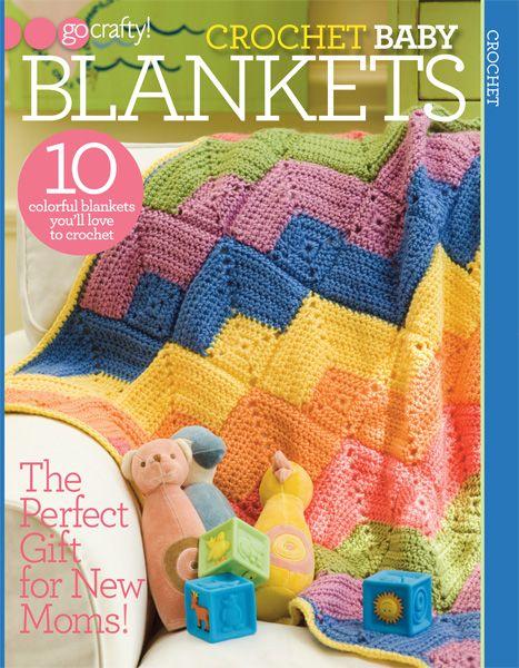 Go Crafty! Crocheted Baby Blankets | Baby & Kid Crochet | Pinterest