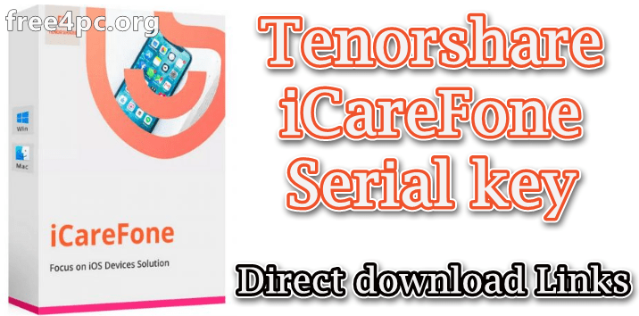 Tenorshare Icarefone Pro Cracked Free Download For Mac Windows Custom Computer Iphone Protection Iphone Storage