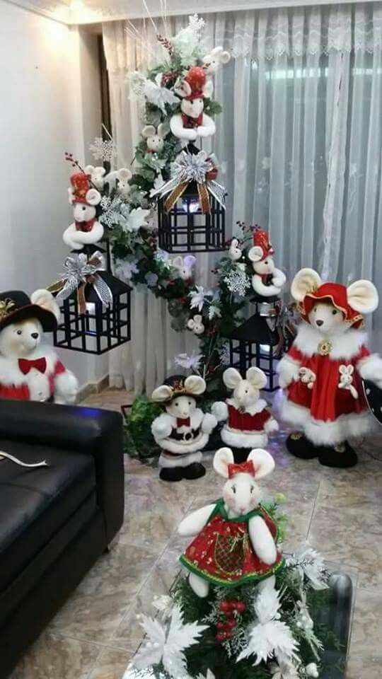 Pin de silvia A en Navidad Pinterest Navidad, Adornos navideños