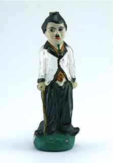 1920s French Charlie Chaplin Perfume Bottle