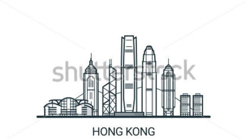 Hk Skyline Skyline Tattoo City Silhouette Hong Kong