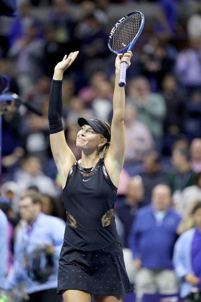 Maria Sharapova Wins Against Sofia Kenin At 2017 Us Open Tennis Championships Day 5 010917 Mariasharapova Usopentennischampionships
