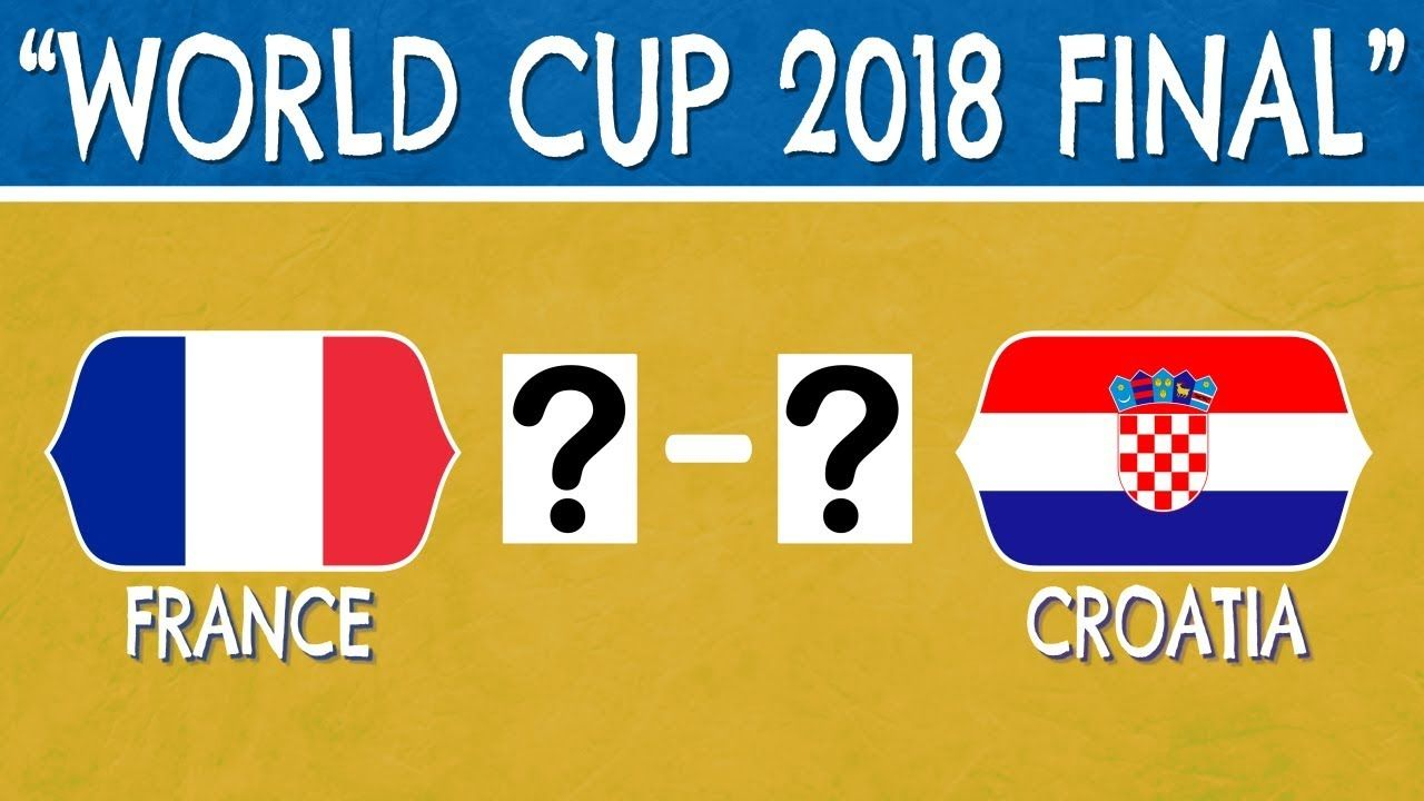 Can You Guess The World Cup Final Score Football Quiz World Cup World Cup Final Football