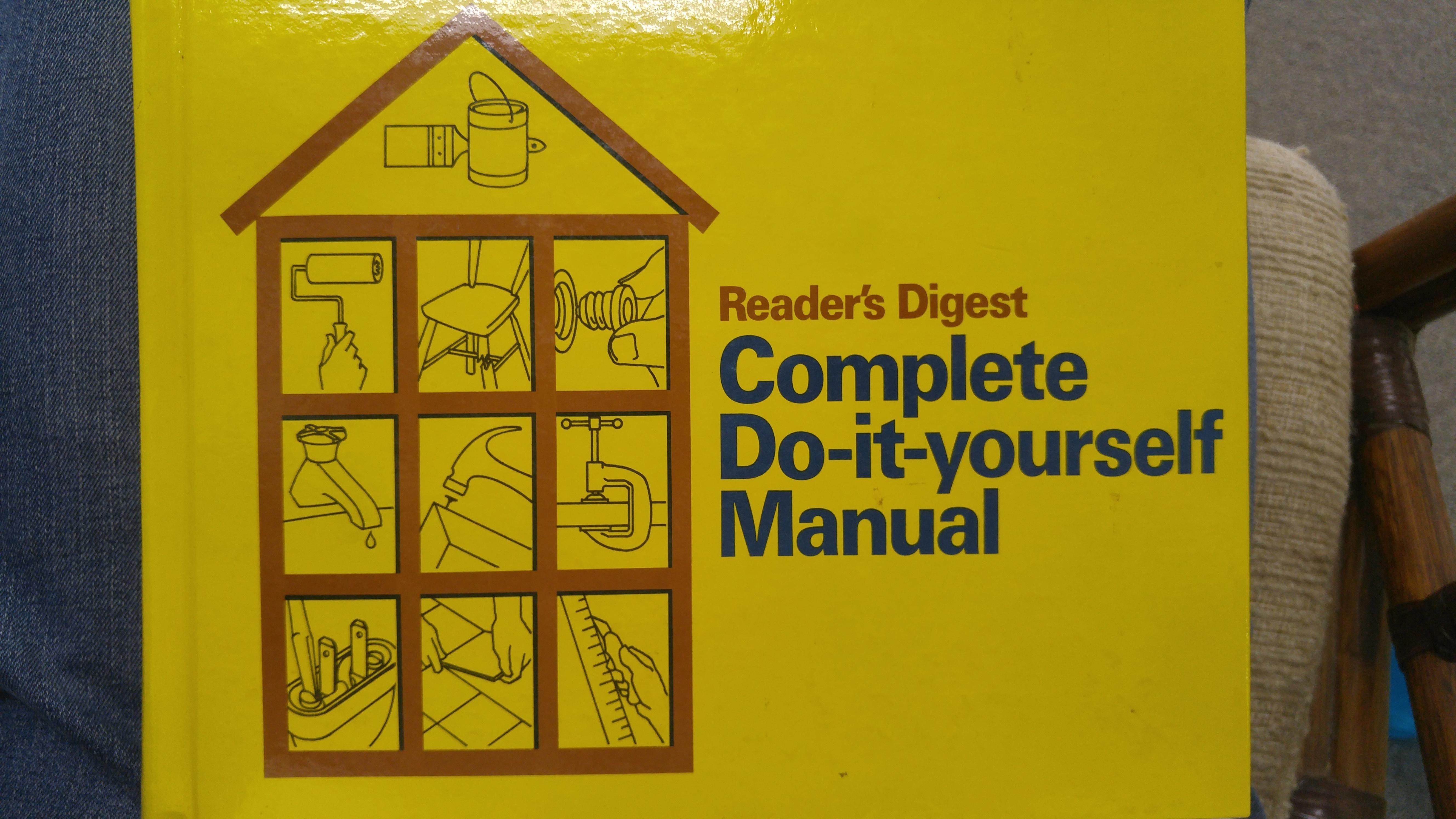 The original DIY | Hardcover book, Readers digest, Hardcover