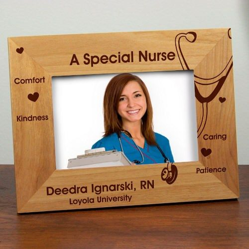 A Special Nurse Personalized Wood Picture Frames #PictureFrames ...