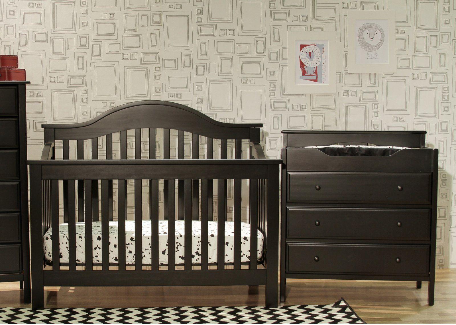 Davinci Jayden Set   Crib U0026 Changing Table   Ebony #DiaperscomNursery.
