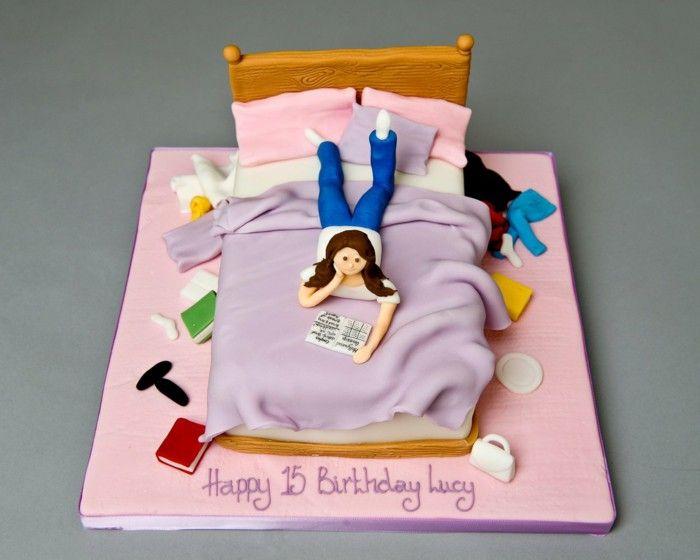 Birthday cake children girls room books Birthday Cake Pinterest