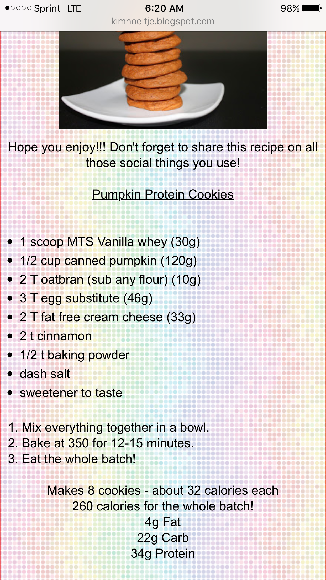Mm deli Protein cookies, Canned pumpkin, Substitute for egg