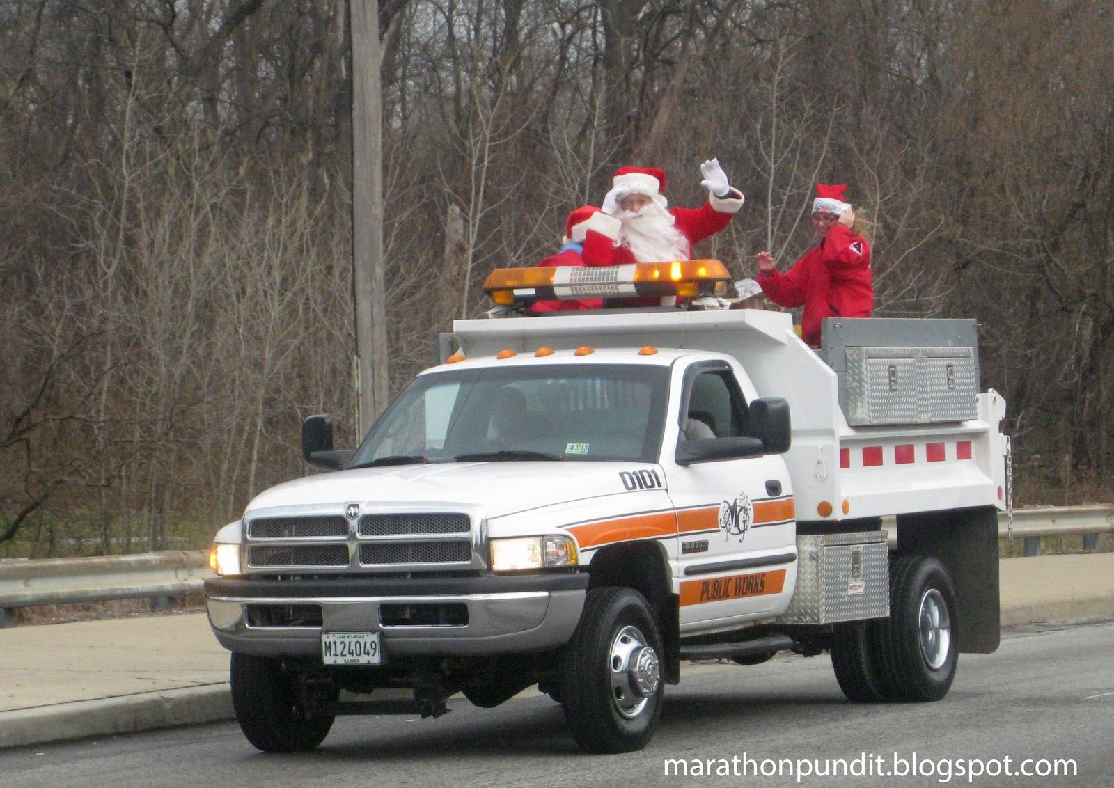 Santa Claus returns to Morton Grove #mortongrove