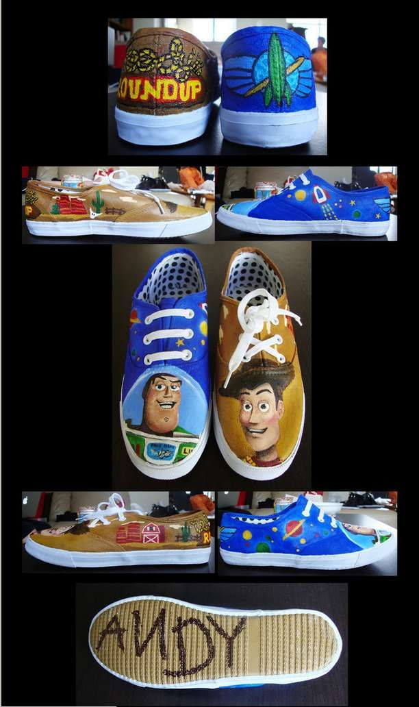 Amazing Disney Style Shoes!