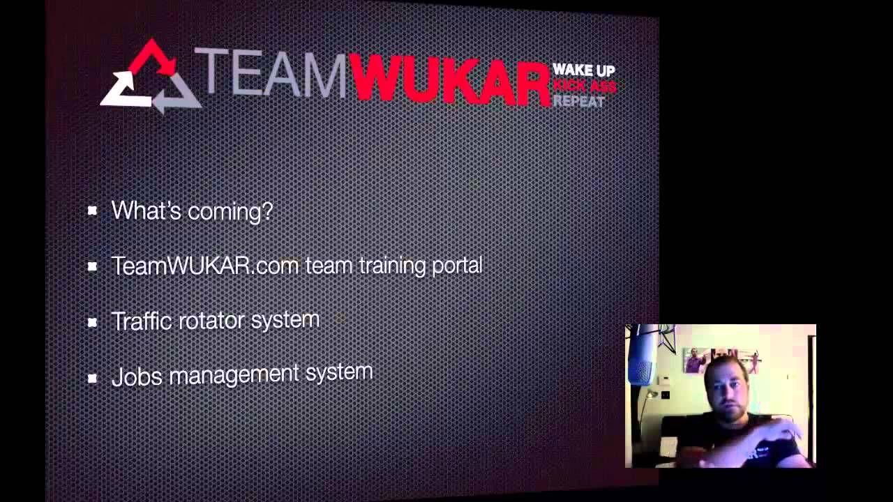 Matt Trainer Vision for Team WUKAR and showing whats possible with DUBLI