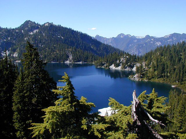 Snow Lake, WA. This is an intense hike. I went in may a year ago and we didn't make it because of snow. I would like to attempt it once more but I'm gonna aim for August on a weekday.