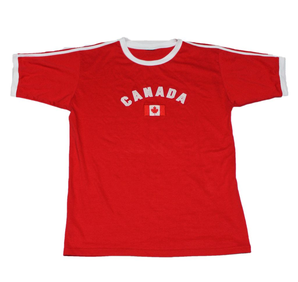Vintage 90s Canada Shirt Mens Size Large $25.00
