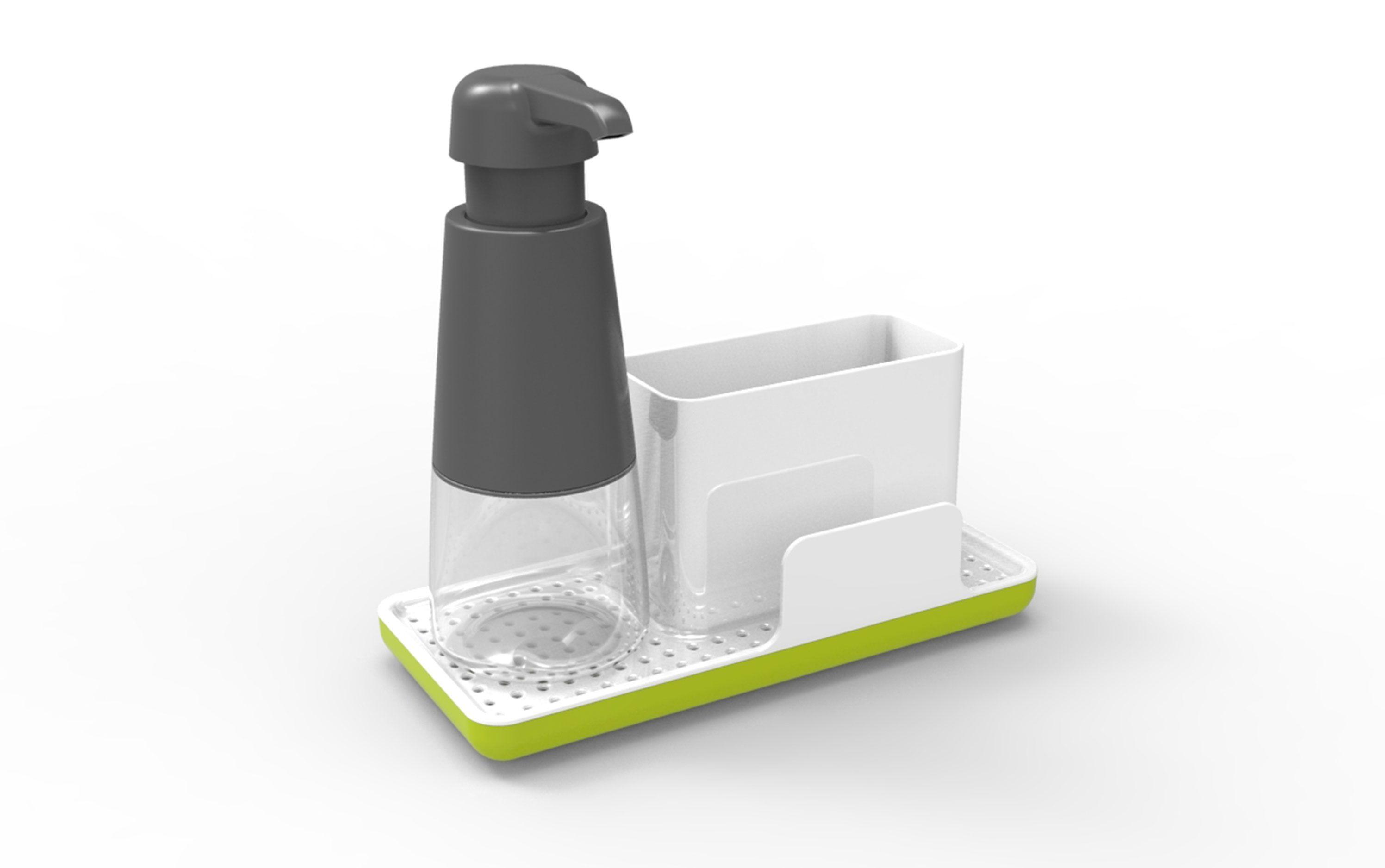 Stylish Design Provides Organized Storage for A Variety of Dish ...
