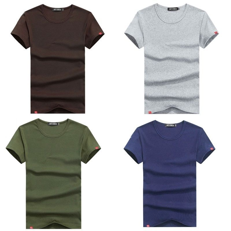 M L XL XXL Mens Shorts Sleeve Undershirt Fit T Shirts Men's Slim Casual Shirt #MensUndershirts #Athletic