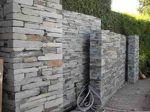 Murete san luis fino revestimiento piedra natural - Revestimiento piedra natural ...