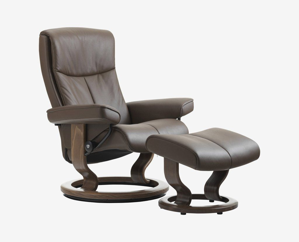 Stressless Peace Recliner Ottoman In 2020 Stressless Furniture Stressless Chair Recliner With Ottoman