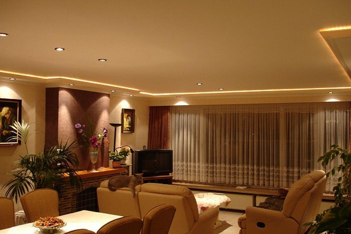 Sfeerverlichting In Woonkamer : Woonkamer verlichting plafond woonkamerplafond in één dag