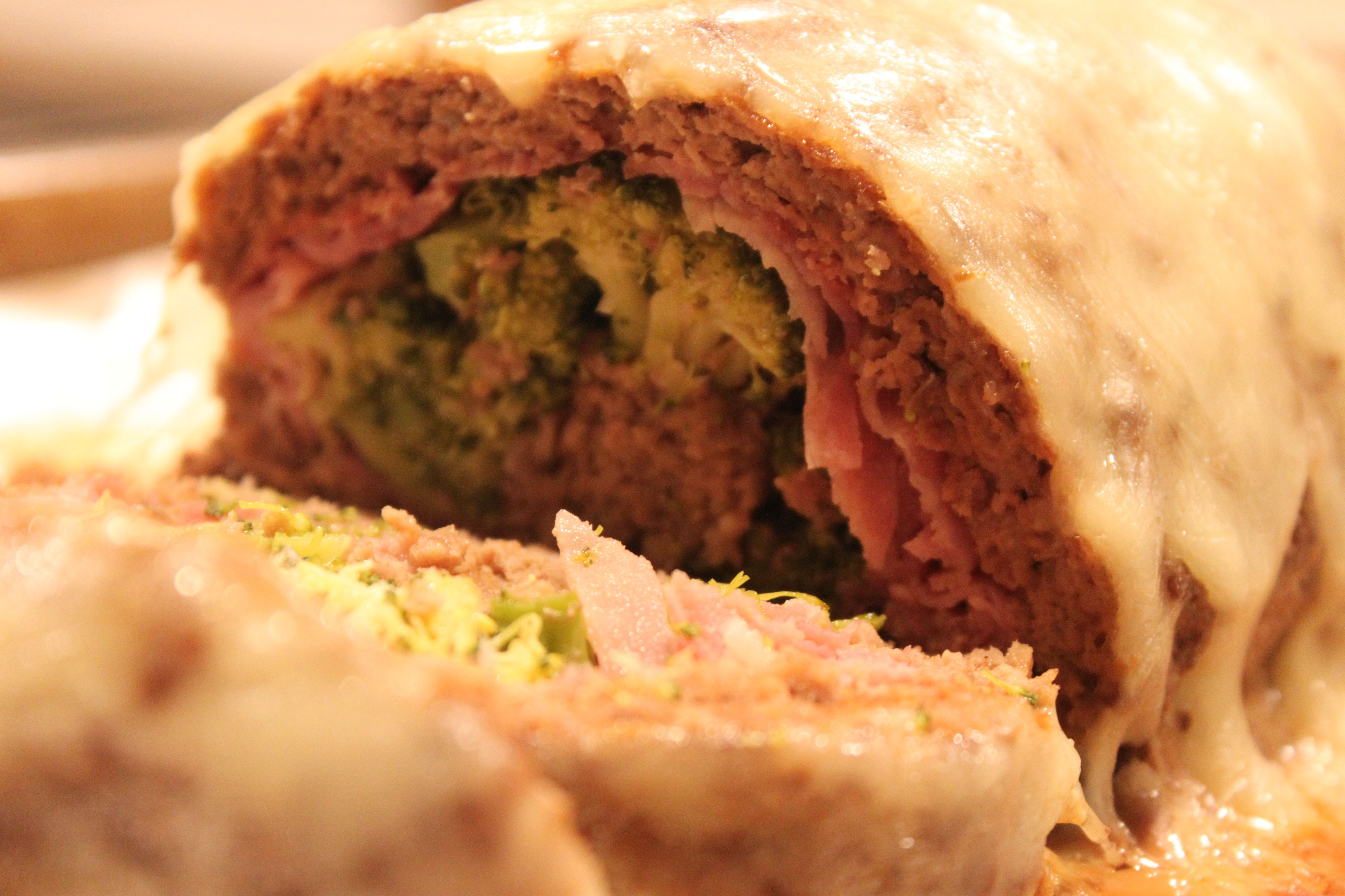 Rolled meatloaf #recipe | The Sensible Home