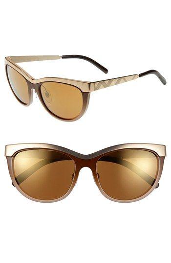 67da4e085d9 Burberry 57mm Cat Eye Sunglasses