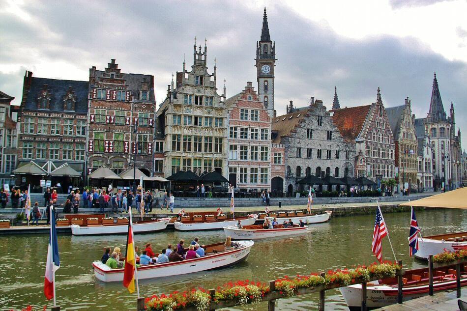 Pin de Guías Viajar en Bélgica | Gante belgica, Gante y